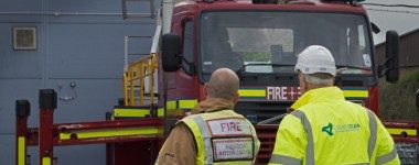 CountyClean Group and Fire Truck