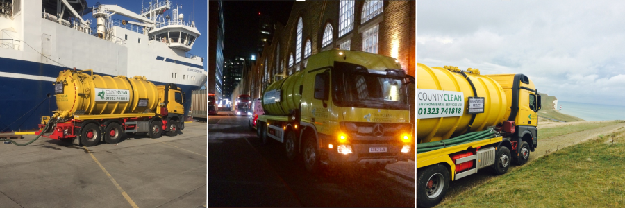 CountyClean Group across the South East at Beachy Head, London City and a Shipyard Docks Port