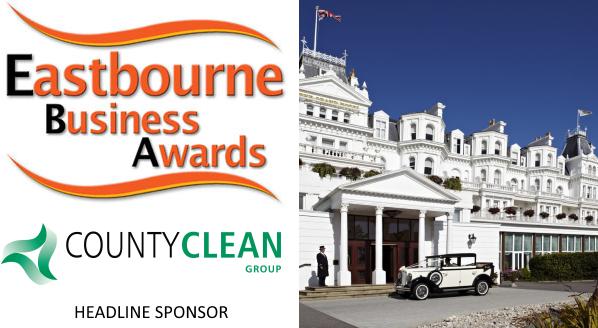 Eastbourne Business Awards - CountyClean Group - Headline Sponsor