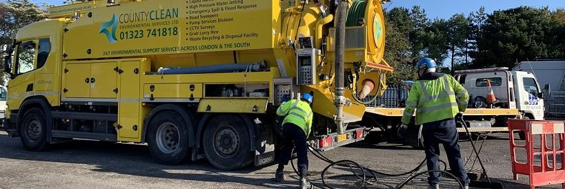 drain jetting & sewer jetting