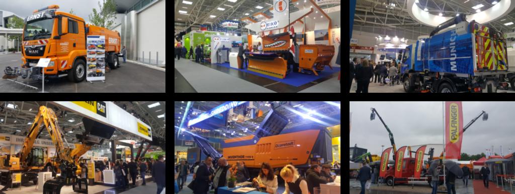 Trucks at iFAT 2018
