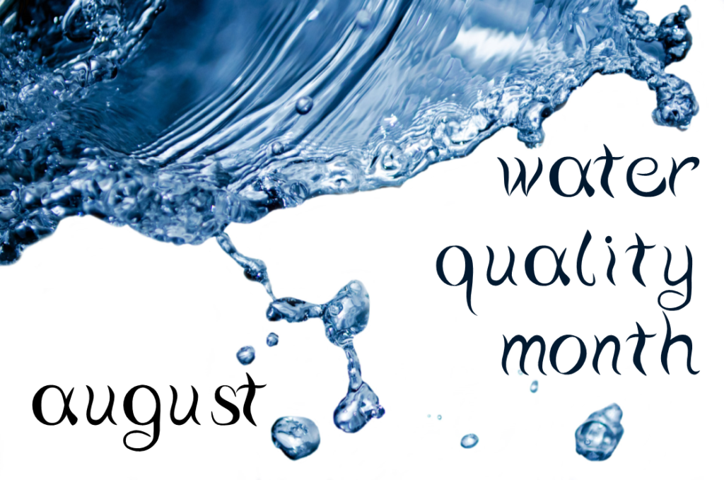 Water Quality Month August